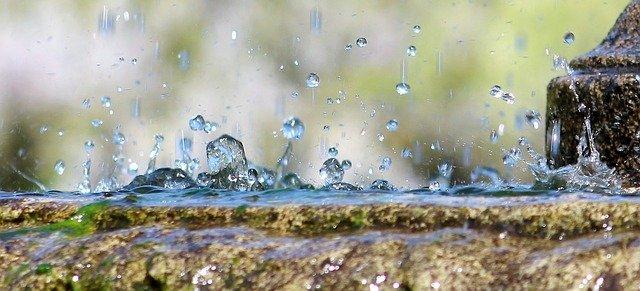 voda fontány