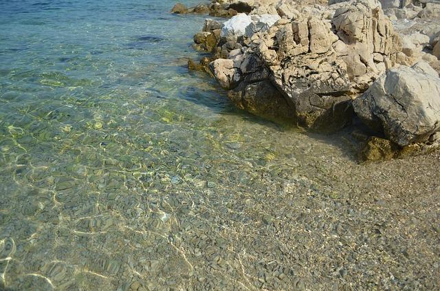 kamínková pláž