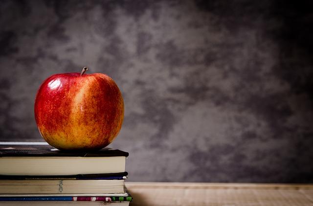 lesklé jablko