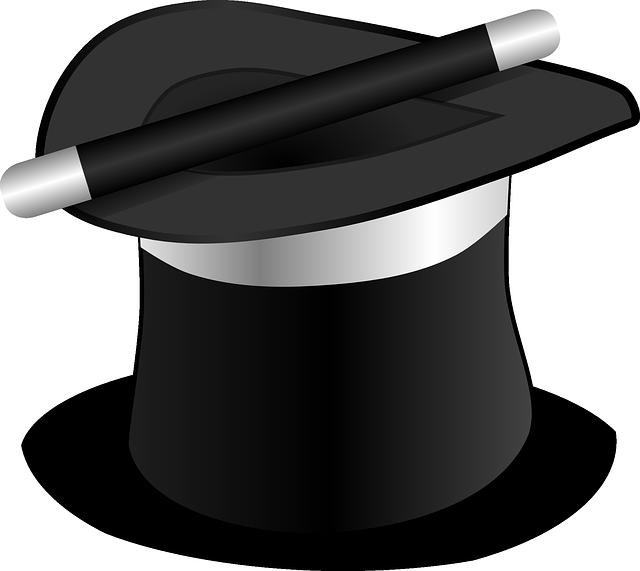 klobouk kouzelníka