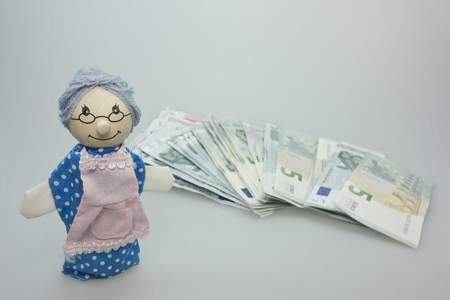 stařenka a peníze