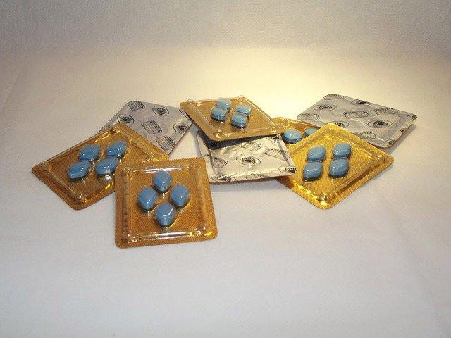 modrá pilulky