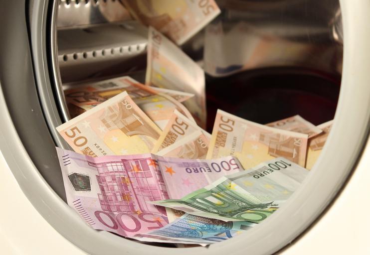 Peníze v pračce