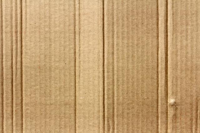 kartón – detail